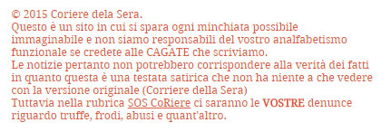 disclaimer-coriere